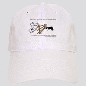 Border Collie Commandment Cap